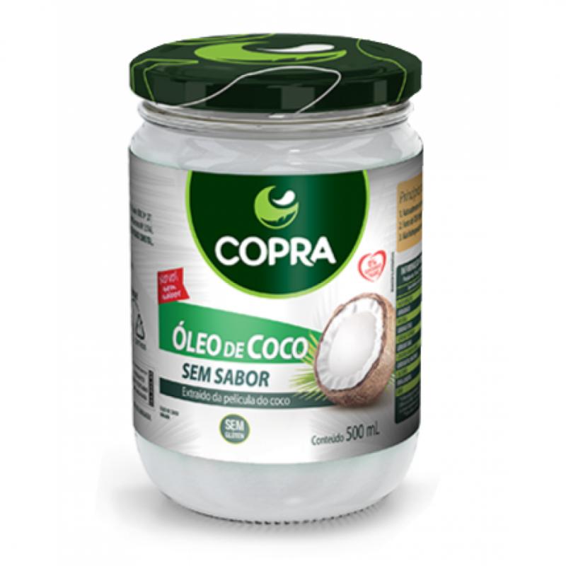 OLEO DE COCO COPRA SEM SABOR