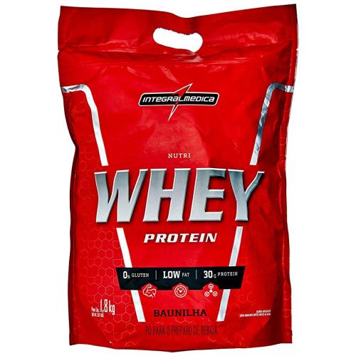 NUTRI WHEY REFIL 907G - INTEGRALMEDICA