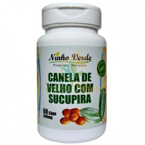 CANELA DE VELHO COM SUCUPIRA 60 CÁPS - 500MG