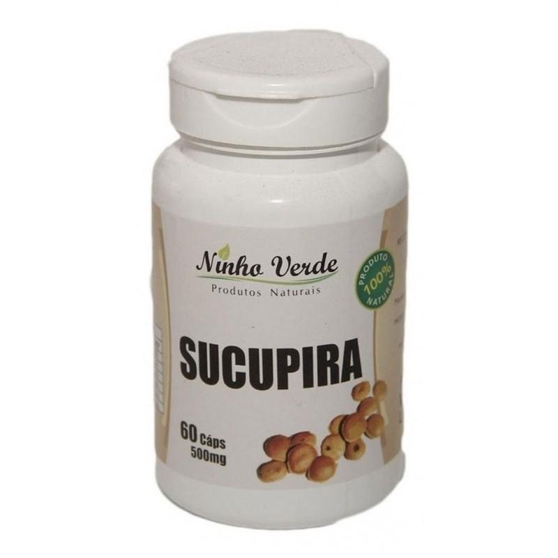 SUCUPIRA - 120 CAPS - 500MG - NINHO VERDE