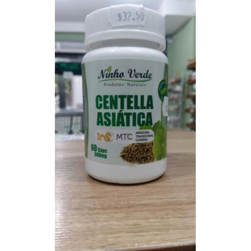 CENTELHA ASIÁTICA 60 CÁPS - 500MG
