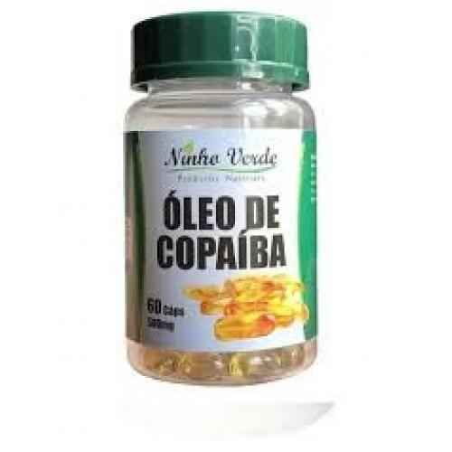 ÓLEO DE COPAÍBA - 60 CAPS - 500MG -NINHO VERDE