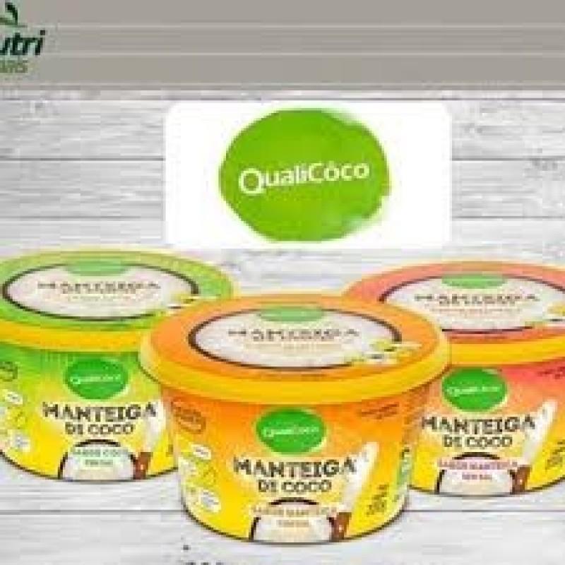 MANTEIGA DE COCO 200 G QUALICOCO SABORES
