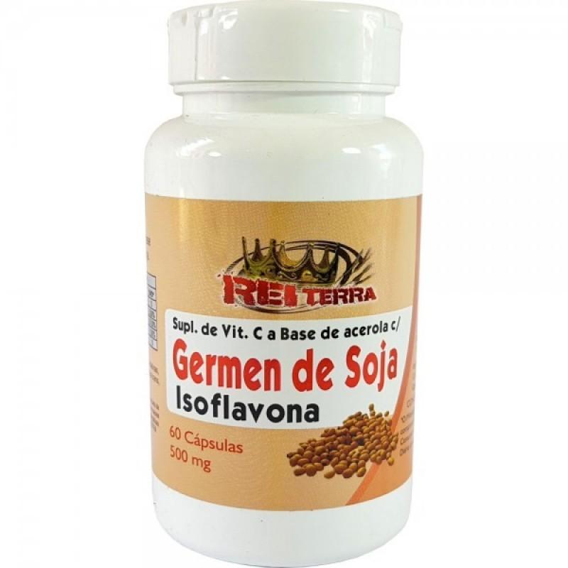 GERMEN DE SOJA - ISOFLAVONA -REI TERRA