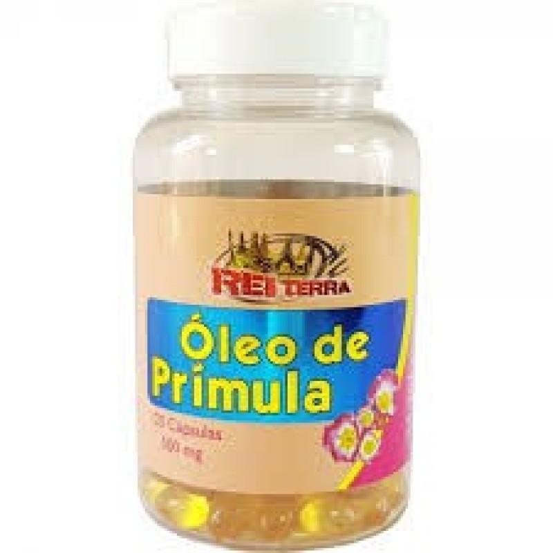 ÓLEO DE PRÍMULA - 60 CAPS - 500MG - REI TERRA