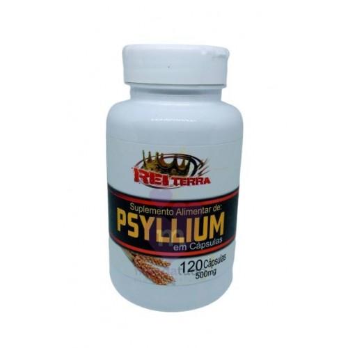 PSYLLIUM - 120 CAPS - 500MG - REI TERRA