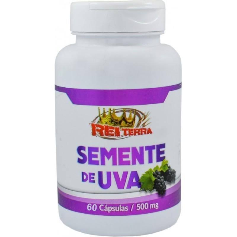 SEMENTE DE UVA 60 CAPS 500 MG - REI TERRA