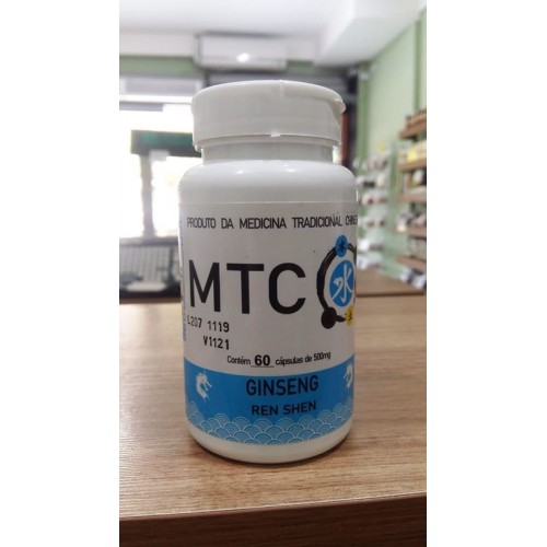 GINSENG MTC - 60 CAPS - SPORTS NUTRITION