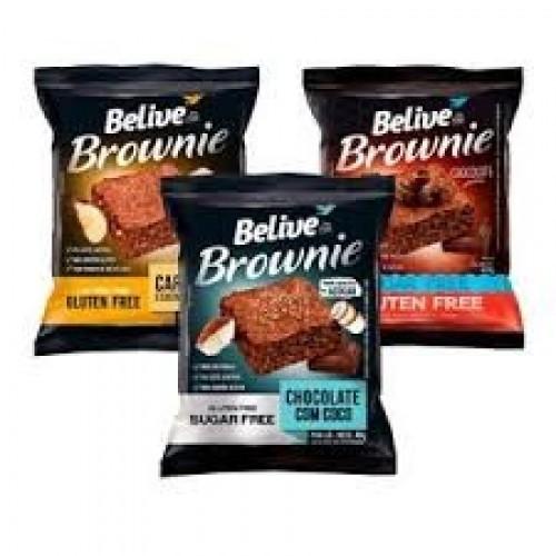 BROWNIE BELIVE 40 G SABORES