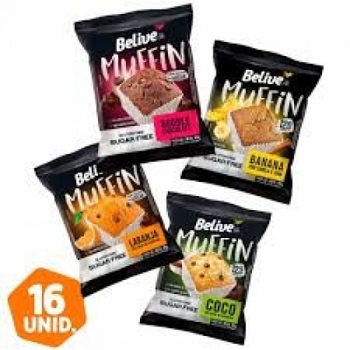 MUFFIN BELIVE SABORES 40 G