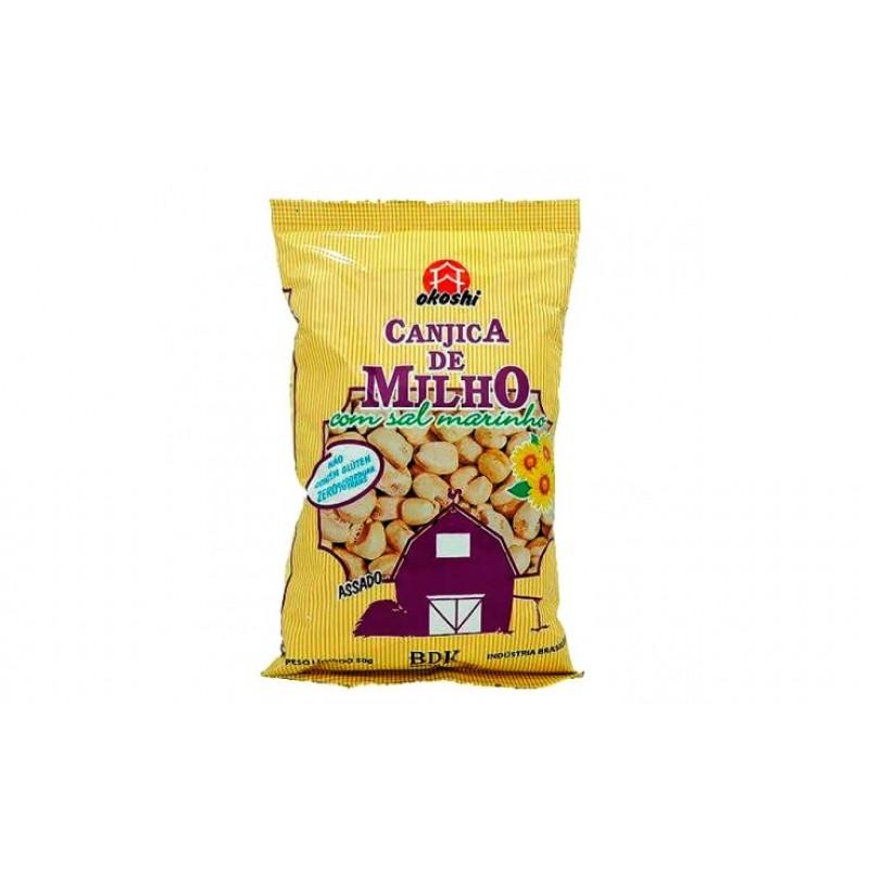 CANJICA DE MILHO COM SAL MARINHO OKOSHI
