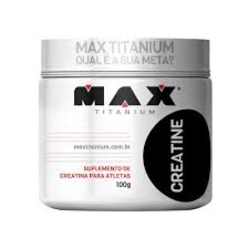 CREATINE 100 G MAX TITANIUM