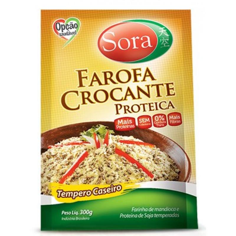 FAROFA CROCANTE PROTEICA SORA -300g