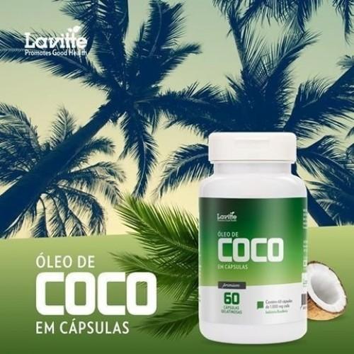 ÓLEO DE COCO 60 CÁPS -1000MG