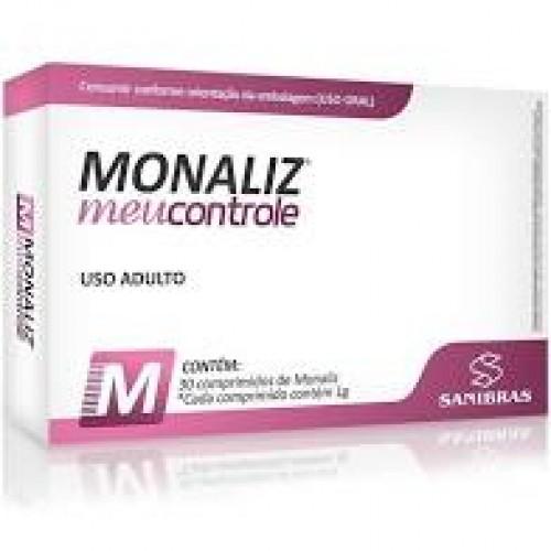 MONALIZ MEU CONTROLE 30 COMPRIMIDOS SANIBRAS