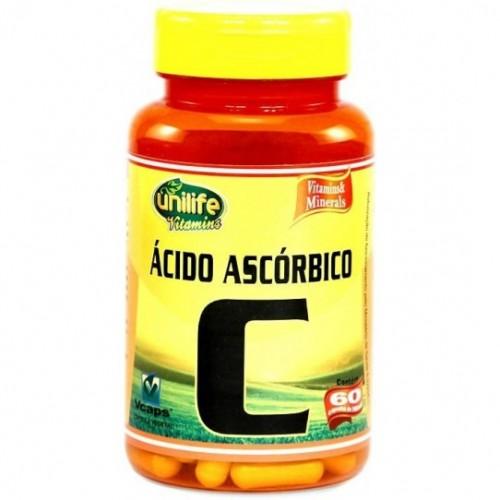 ACIDO ASCÓRBICO 60 CAPS - UNILIFE
