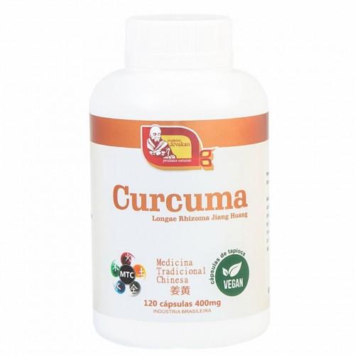 CURCUMA 120 CÁPS - 400MG