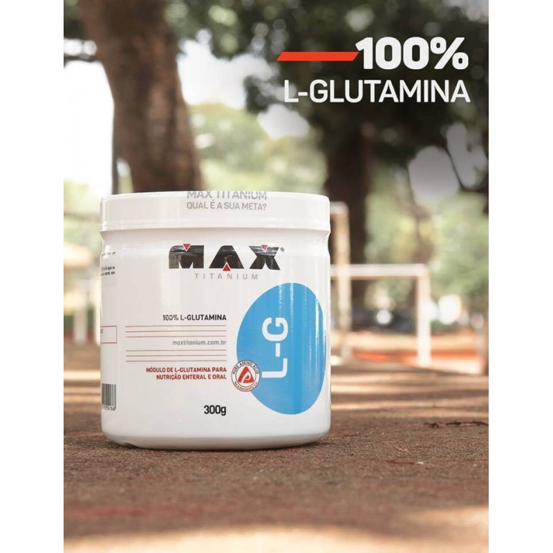 L - GLUTAMINA MAX TITANIUM L-G