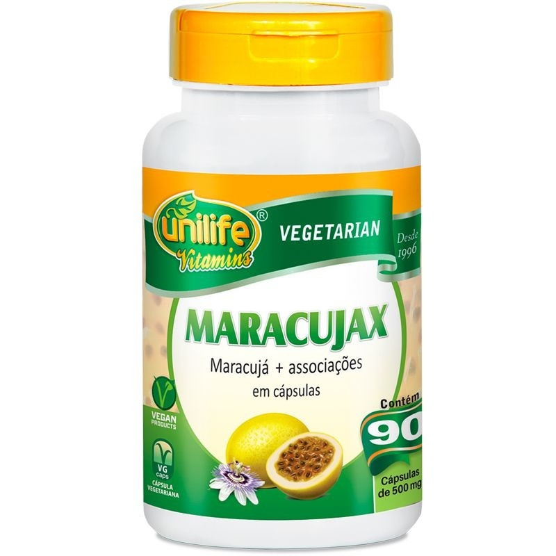 MARACUJAX - 90 CAPS - 500MG - INILIFE