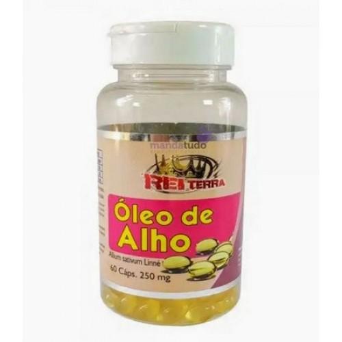 OLEO DE ALHO 60 CAPS - REI TERRA