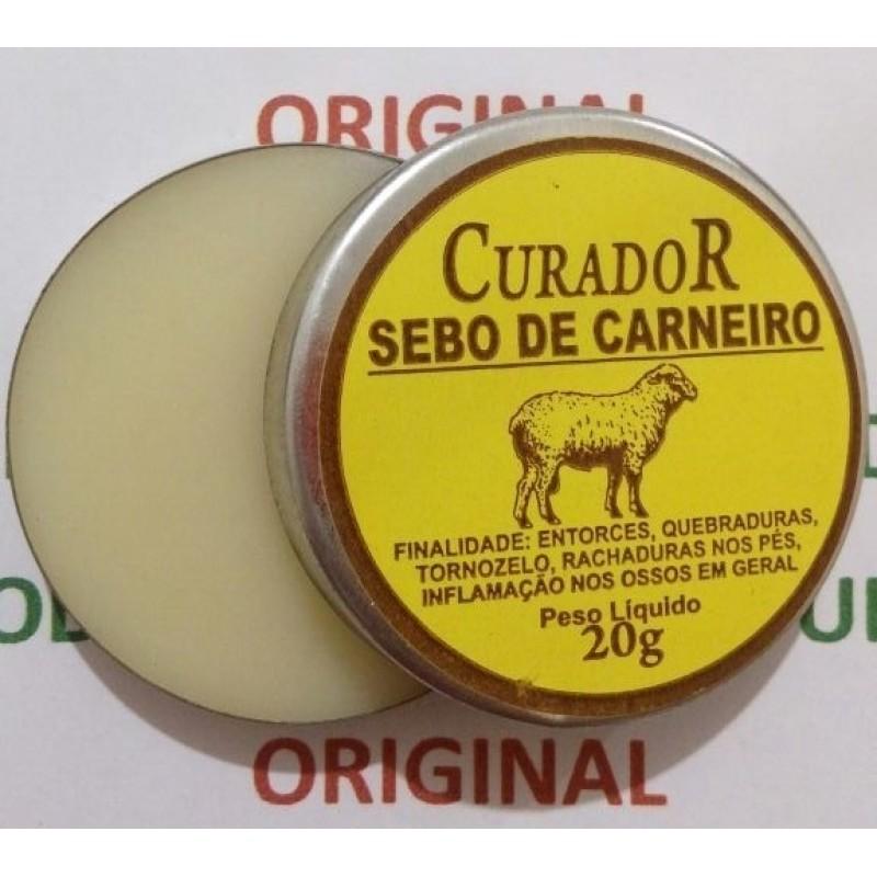 POMADA SEBO DE CARNEIRO -20G