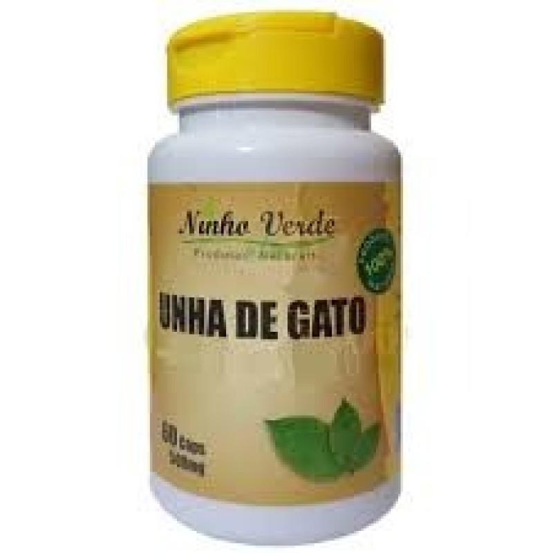 UNHA DE GATO - 60CAPS - 500MG - NINHO VERDE