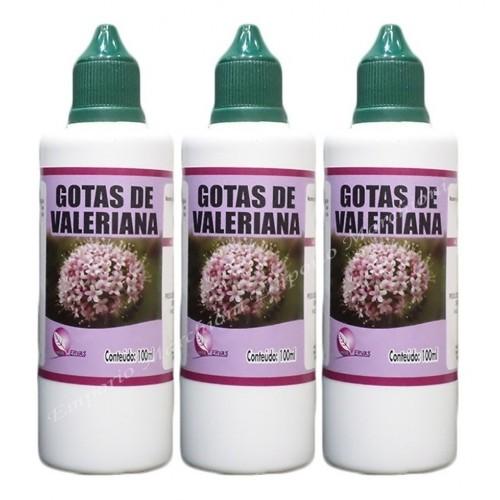 GOTAS DE VALERIANA 100ML - VIDA ERVAS