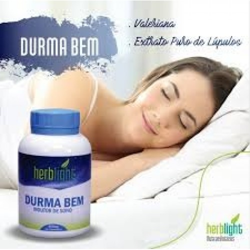 DURMA BEM - HERBLIGHT -180 CAPS