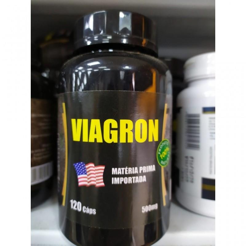 VIAGRON - 120 CÁPSULAS DE 500MG - NINHO VERDE