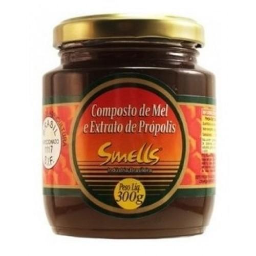 Composto de Mel e Extrato de Própolis 300g - Smells