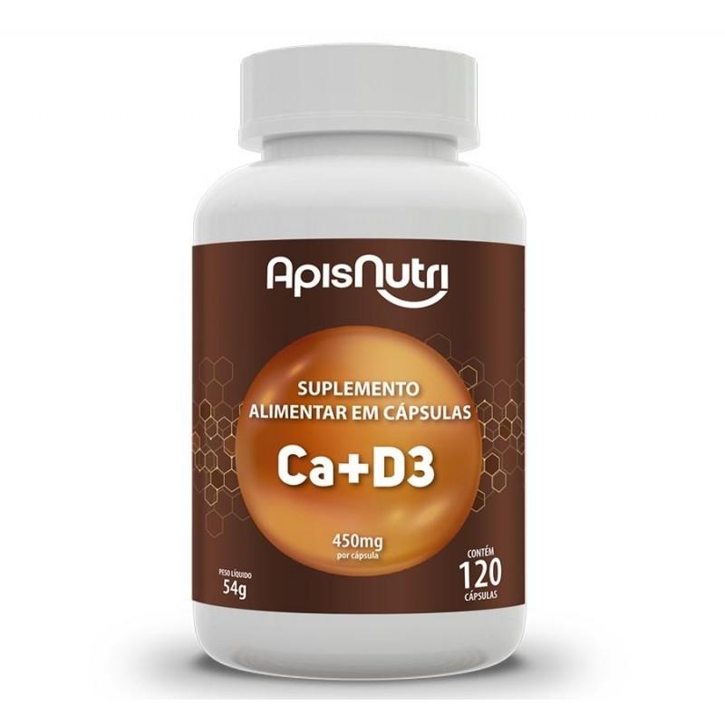 Ca+D3 - Suplemento De Cálcio e Vitamina D3 120 C�...