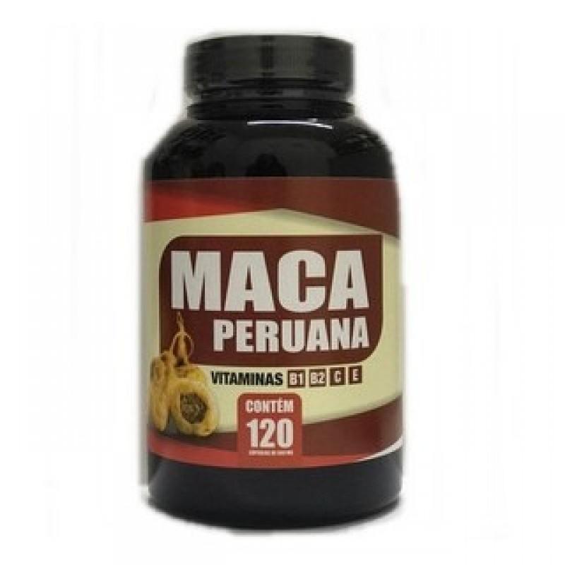 Maca Peruana 120 caps 500mg - Natuviva