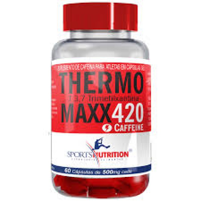 THERMO MAXX 420 60 CAPS SPORTS NUTRITION