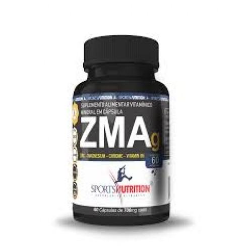 ZMA 60 CAPS SPORTS NUTRITION